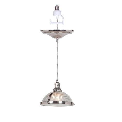 home decorators collection pendant lights home decorators collection hton 1 light polished nickel