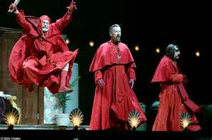 monty python fans descend on o2 for reunion stage show