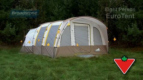 canadian tire awnings broadstone 8 person euro tent youtube