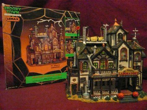 lemax christmas village hospital lemax spooky town dr tingles laboratory villages