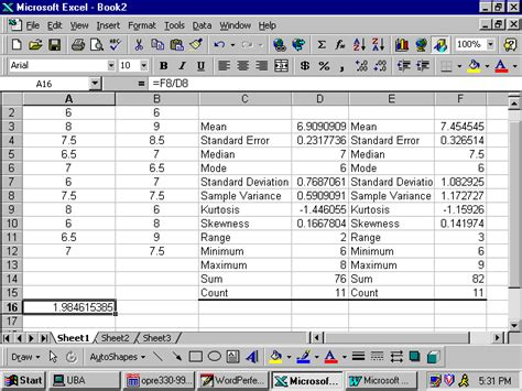 Exle Of Data Analysis In Research by Excel For Business Statistics