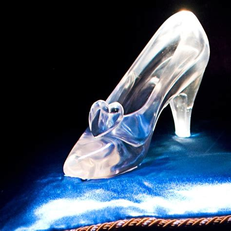 glass slipper cinderella s glass slipper s wedding ideas