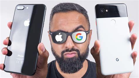 pixel 2 xl vs iphone 8 plus