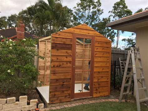 Garden Shed Assembly by Timber Garden Shed Garden Sheds Custom Made Redland