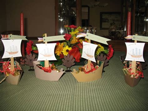 Thanksgiving Table Favors Thanksgiving Table Favors By Sthabit At Splitcoaststers