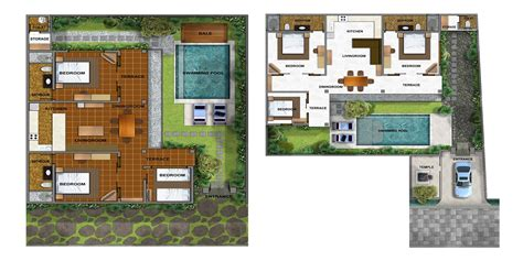 bali style house floor plans balinese house plans with warm colors house style and plans