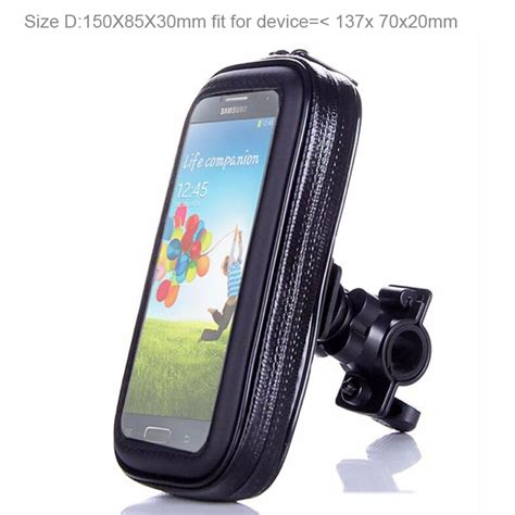 Bicycle Phone Holder 4 Penyanggah One Touch T0210 1 bicycle bike mobile phone holder waterproof touch screen bag for xiaomi mi 4 4i 4c 4s redmi