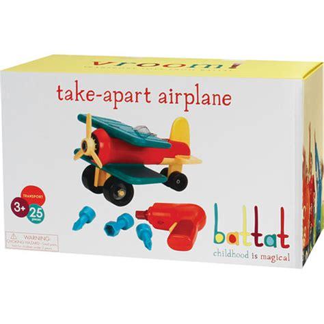 take appart take apart airplane snapdoodle toys