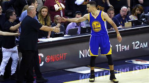 stephen curry fan of a cavs owner was the fan hit by stephen curry s