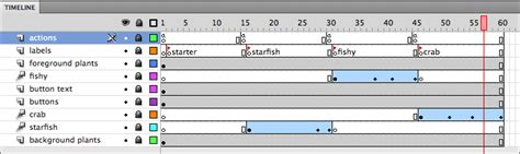 flash tutorial timeline how to use flash cs4 timeline workflow