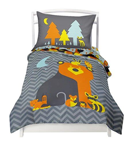 woodland twin bedding twin reversible woodland creature comforter set with 1