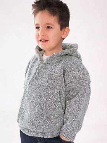 pattern hooded sweatshirt child s hooded sweatshirt free pattern yarnspirations