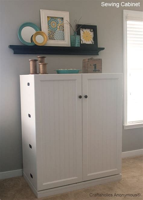 craft cabinet with fold down table you have to see how this sewing cabinet folds out to a