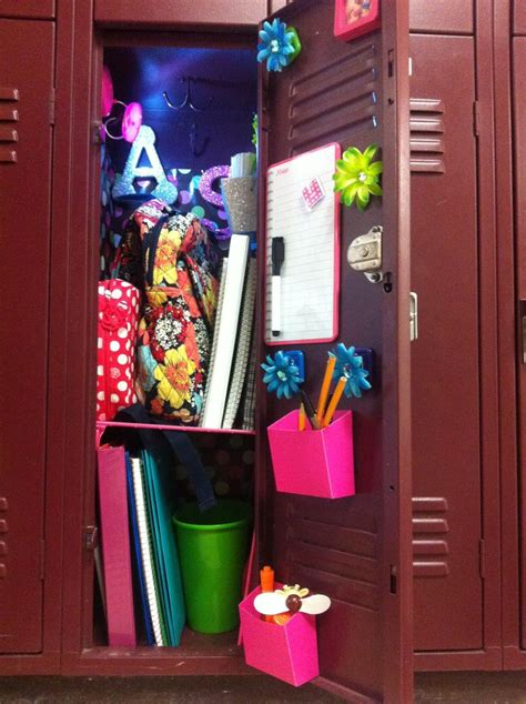 School Locker Decorations Walmart middle school locker decked out found all the items at