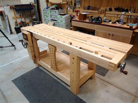 split top roubo workbench  wood whisperer guild