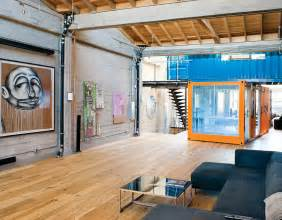 Shipping Container Homes Interior Shipping Container Homes Shipping Containers In Loft Apartment San Francisco California