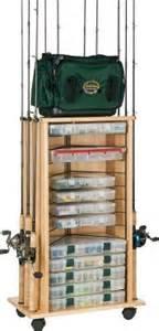 Fishing Rod Storage Cabinet Cabinet Rack Hookandbullet