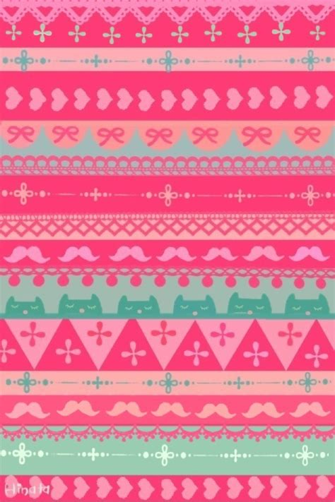 aztec pattern in pink pink aztec styled pattern iphone wallpapers pinterest