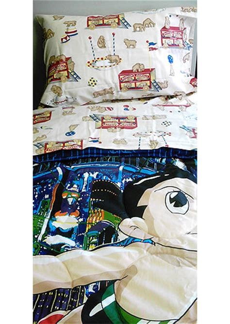 bunk bed bedding sets for boy and astroboy 4pc astro boy bedding set single