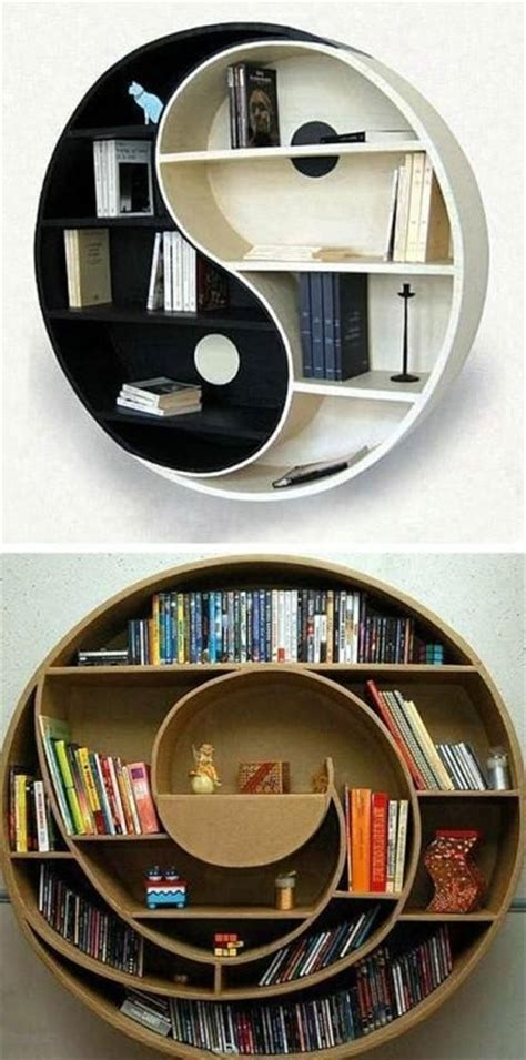 creative bookshelves  bookcases designs digsdigs