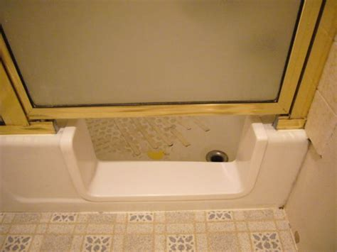 bathroom door saddle bathtub saddle remodel for safetywith door and splash guard