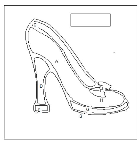 high heel shoe template craft high heel shoe with bow to applique free applique pattern