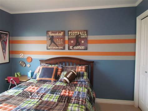 striped walls bedroom ideas best 20 orange boys rooms ideas on pinterest