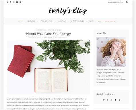 blog themes free tumblr 55 best free wordpress themes and templates for 2018
