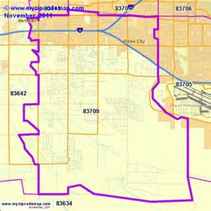 Boise Id Zip Code Map by Zip Code Map Of 83709 Demographic Profile Residential