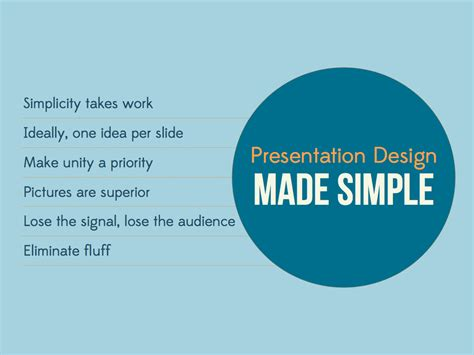 Simple Design Why Simple Isn T Easy Tweak Your Slides Simple Presentation Design