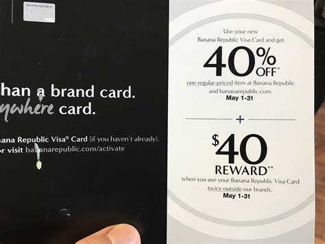 Use Gap Gift Card At Old Navy - targeted banana republic gap old navy credit cards 40 reward when you use card