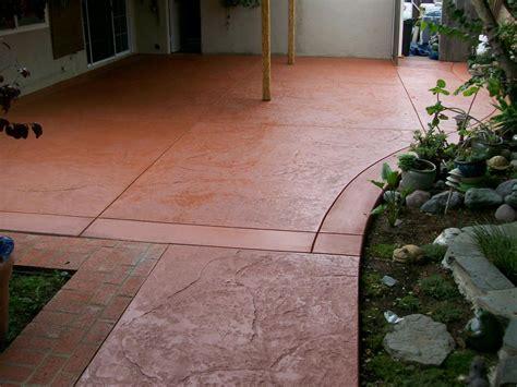 Stained Concrete Patio Decor ? Jacshootblog Furnitures