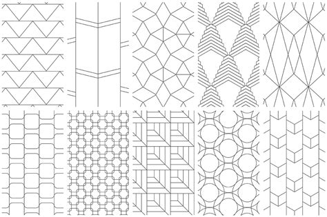 line pattern easy simple line geometric patterns by youandigraphics