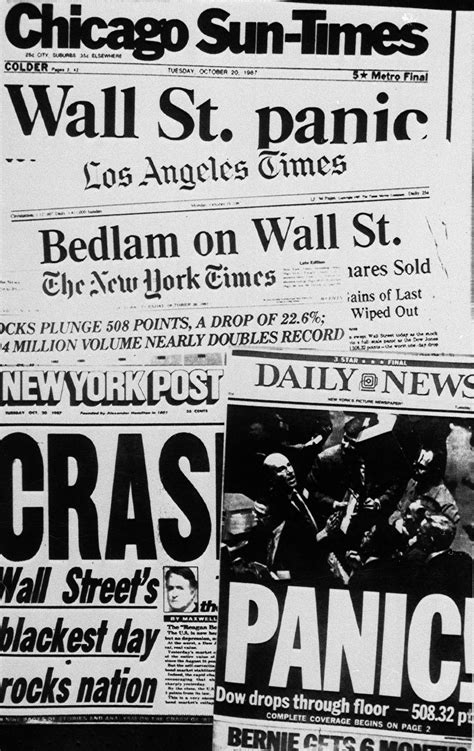 Black Monday: How the October 1987 Crash Would Look Today