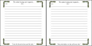 guest sign in book template best photos of book page template open book template