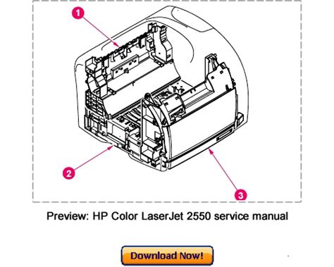 Hp Color Laserjet 2550 Service Repair Manual Download