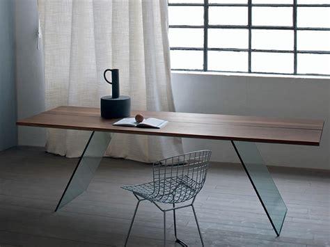 tavolo di vetro per soggiorno tavolo con base in vetro tavolo minimale per soggiorno
