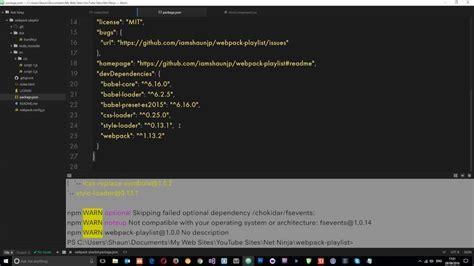 tutorial webpack webpack tutorial for beginners 5 css loaders youtube