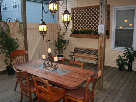 Tuscan Style Patio Furniture Adding Recessed Tile To A Dining Table Hgtv