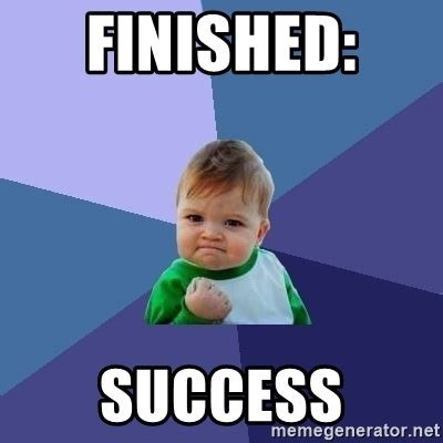 Success Kid Meme Generator - finished success success kid meme generator