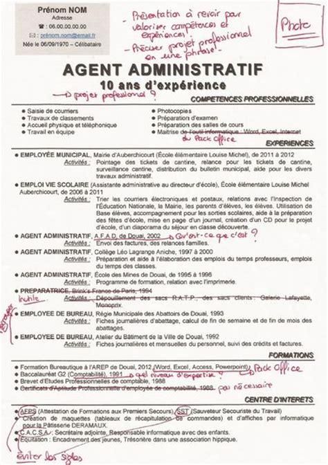 Lettre De Présentation Cv Adjointe Administrative Modele Cv Adjoint Administratif Fonction Publique Cv Anonyme