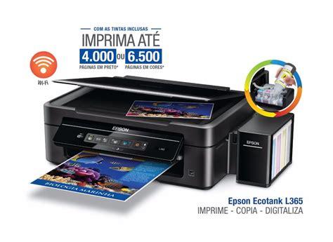 Tinta Printer Epson L355 4 refil tinta original impressora l220 l355 l365 l555