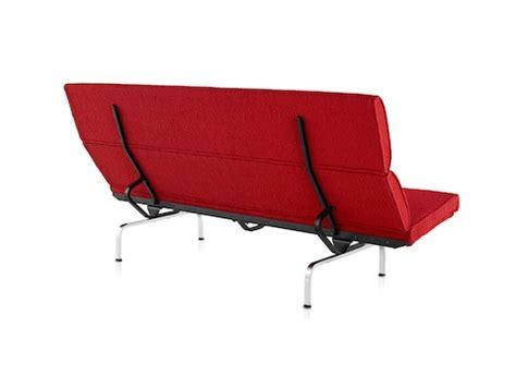 eames compact sofa eames sofa compact lounge seating herman miller