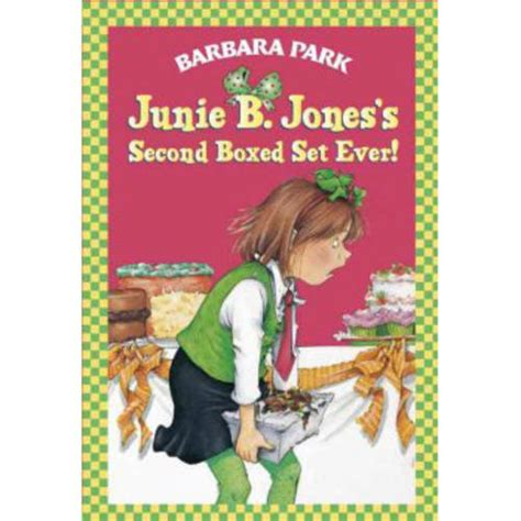 pictures of junie b jones books junie b jones s second boxed set books 5 8
