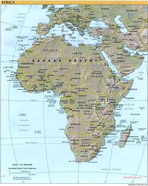 europa y africa mapa mapas f 237 sicos mundo