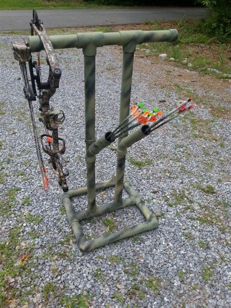 archery bow stand plans how to build a archery bow rack woodworking projects plans