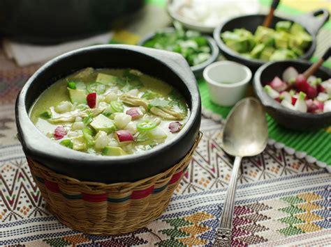 green kitchen recipes pozole verde de pollo green mexican hominy and chicken