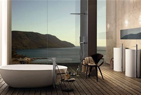 awesome bathrooms with superb views