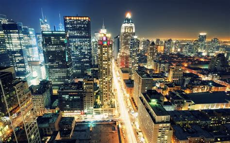City Of Lights by City Of Light Desktop Wallpaper