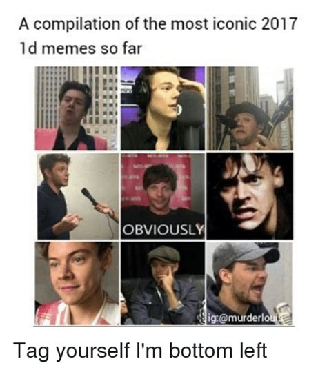 Iconic Memes - a compilation of the most iconic 2017 1d memes so far obviously ig murderlo tag yourself i m